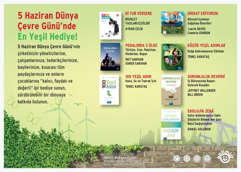 5 Haziran Dünya Çevre Günü'nde En Yeşil Hediye